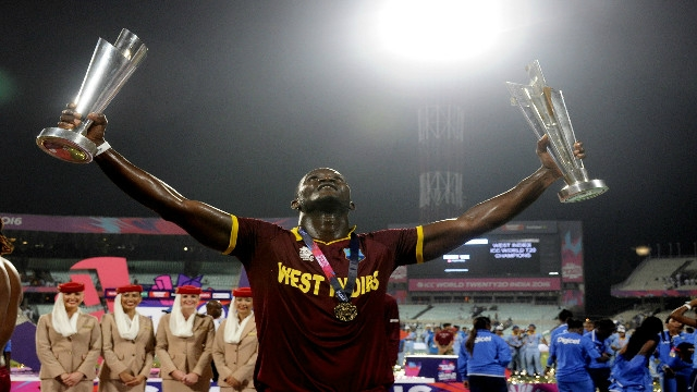 World T20: Darren Sammy hopes WT20 triumph will inspire West Indies Test team