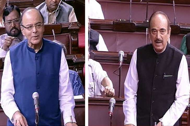 Jaitley to Azad : You gave respectability to ISIS  by talking about it along with RSS