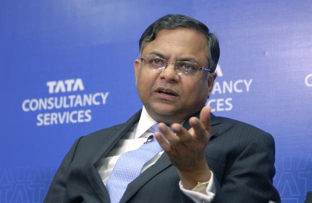 Now what made TCS CEO N Chandrasekaran to Salute at an award function