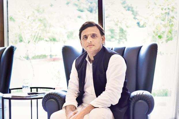 Akhilesh Yadav : Starting UP Poll Campaign on his own