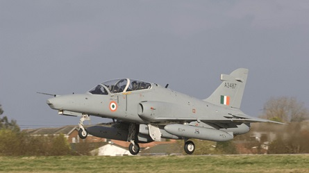 India launches its first indigenously upgraded fighter jet Hawk Mk 132