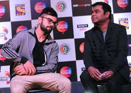 Virat kholi to sing for A.R. Rahman