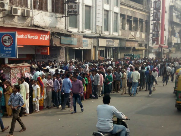 Opinion - Demonetization: Queues Getting Shorter, government addresses issues