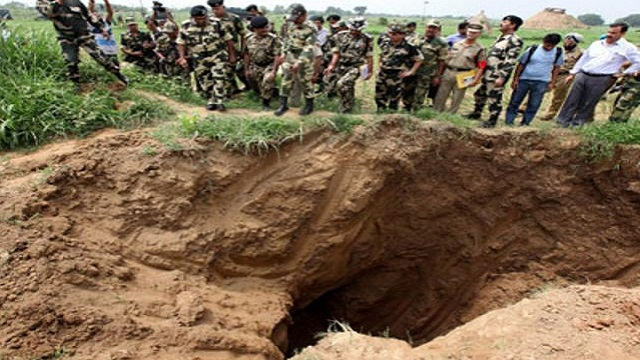 Tunnel from Pakistan found in J&K